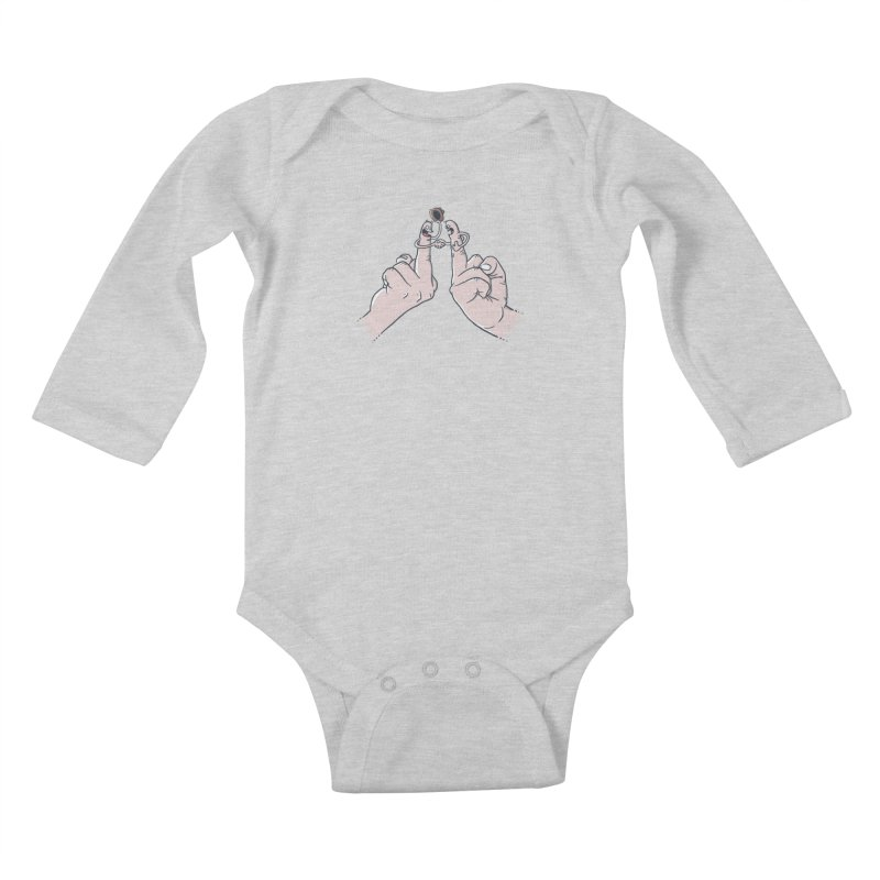 Civil Disagreement Kids Baby Longsleeve Bodysuit by Made With Awesome