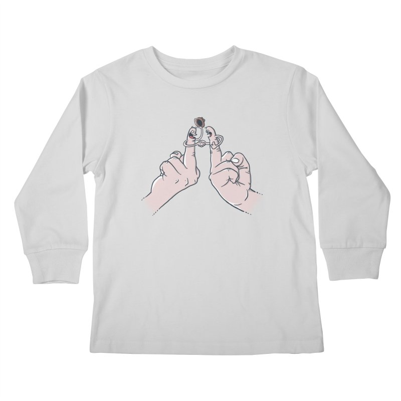 Civil Disagreement Kids Longsleeve T-Shirt by Made With Awesome