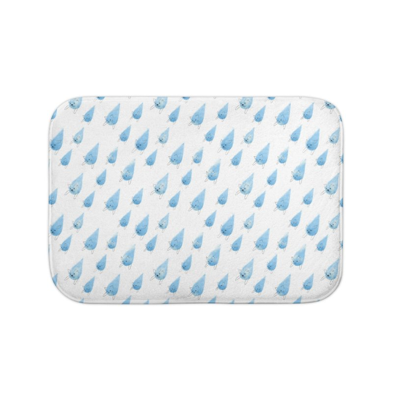 Raining Cats and Dogs (All-Over Print) Home Bath Mat by Made With Awesome