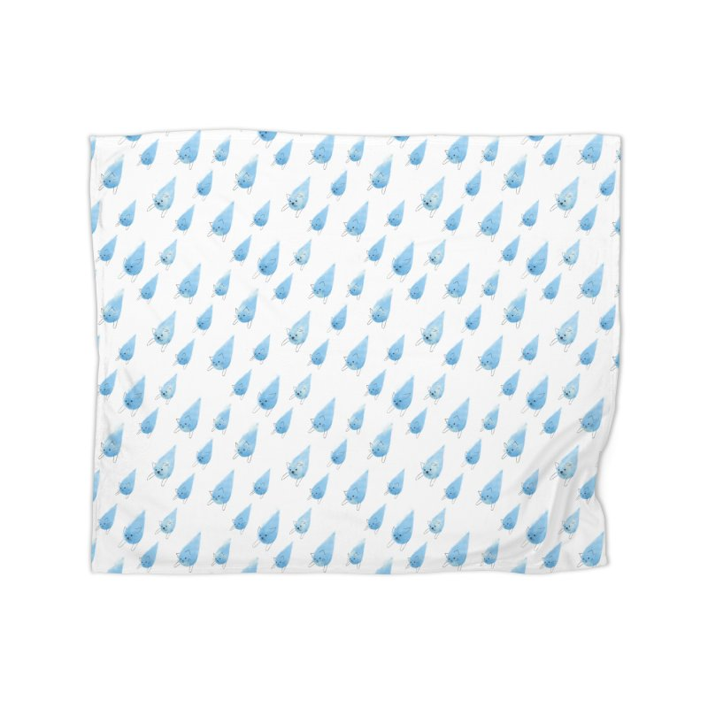 Raining Cats and Dogs (All-Over Print) Home Blanket by Made With Awesome