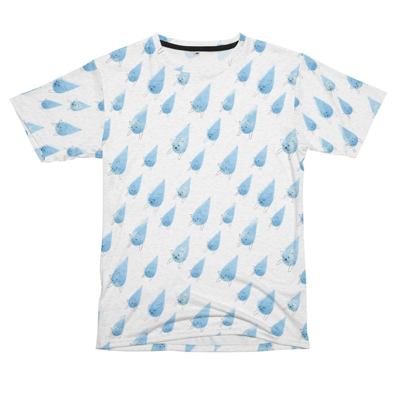 Raining Cats and Dogs (All-Over Print) Women's Cut & Sew by Made With Awesome
