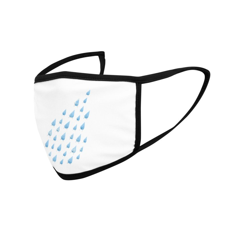 Raining Cats and Dogs Accessories Face Mask by Made With Awesome
