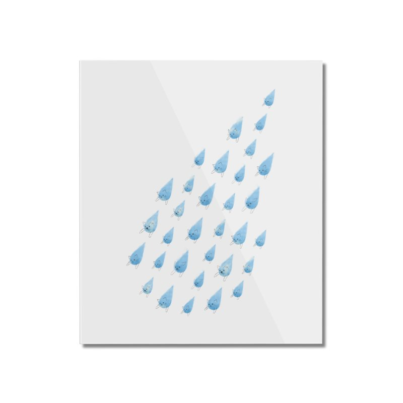 Raining Cats and Dogs Home Mounted Acrylic Print by Made With Awesome