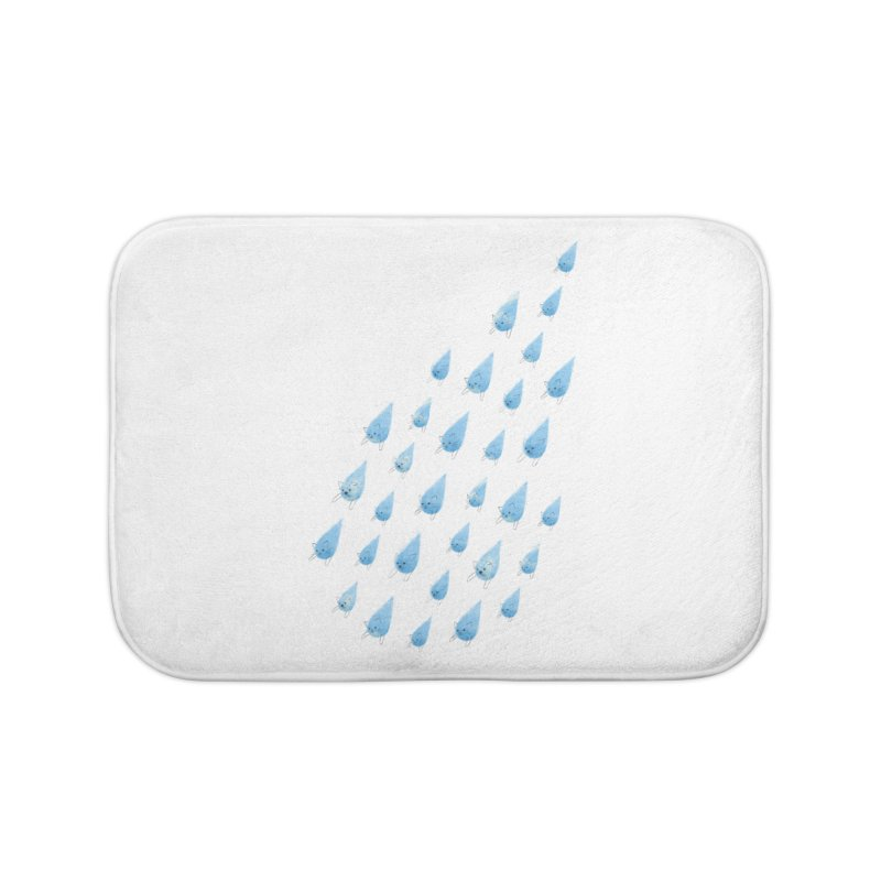 Raining Cats and Dogs Home Bath Mat by Made With Awesome