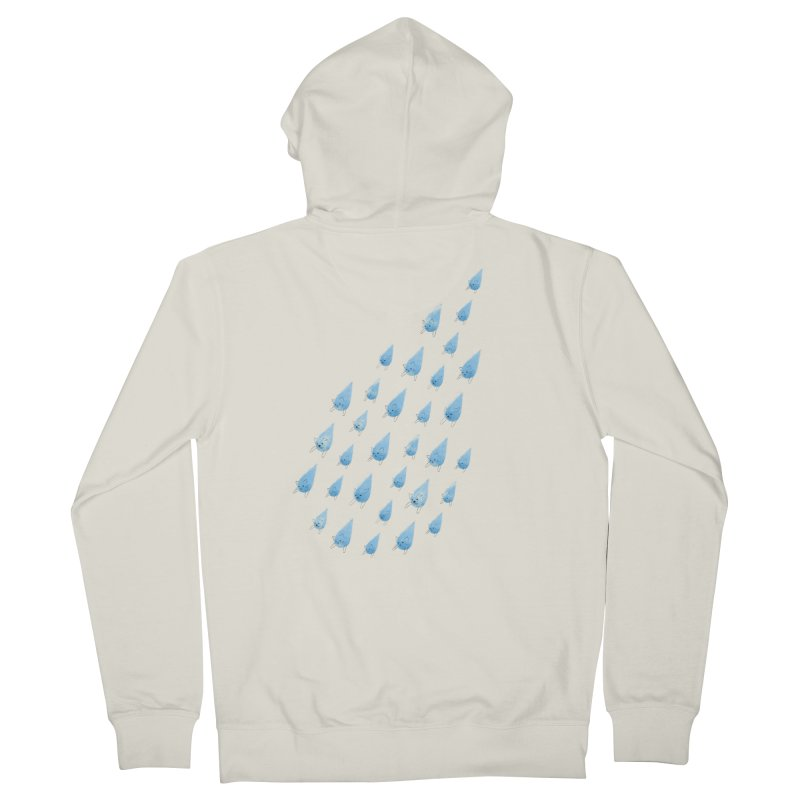 Raining Cats and Dogs Women's Zip-Up Hoody by Made With Awesome