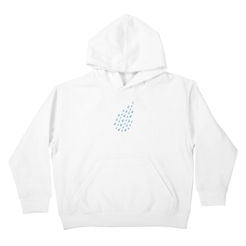 Raining Cats and Dogs Kids Pullover Hoody by Made With Awesome