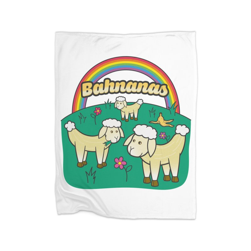 Bahnanas Home Blanket by Made With Awesome