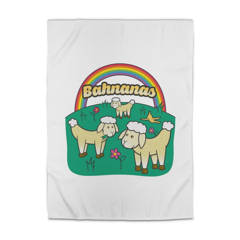 Bahnanas Home Rug by Made With Awesome