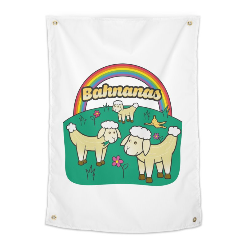 Bahnanas Home Tapestry by Made With Awesome
