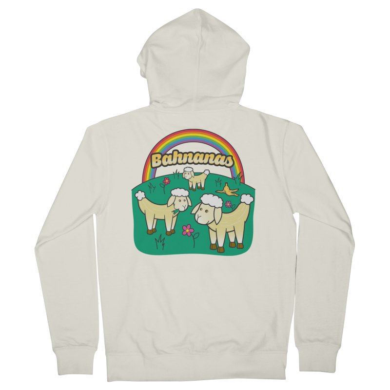 Bahnanas Guys Zip-Up Hoody by Made With Awesome
