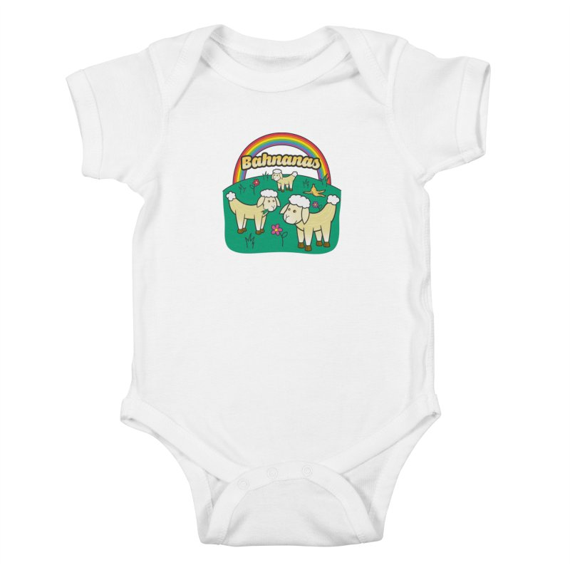 Bahnanas Kids Baby Bodysuit by Made With Awesome