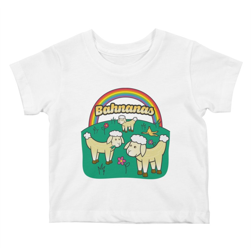 Bahnanas Kids Baby T-Shirt by Made With Awesome