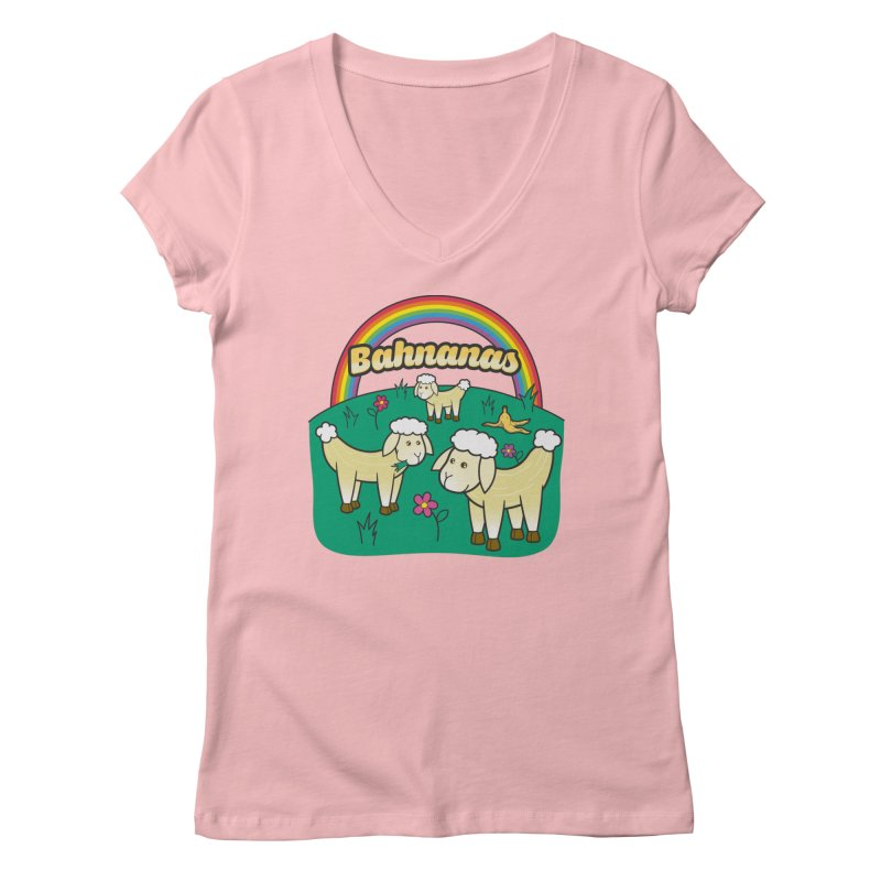 Bahnanas Gals V-Neck by Made With Awesome