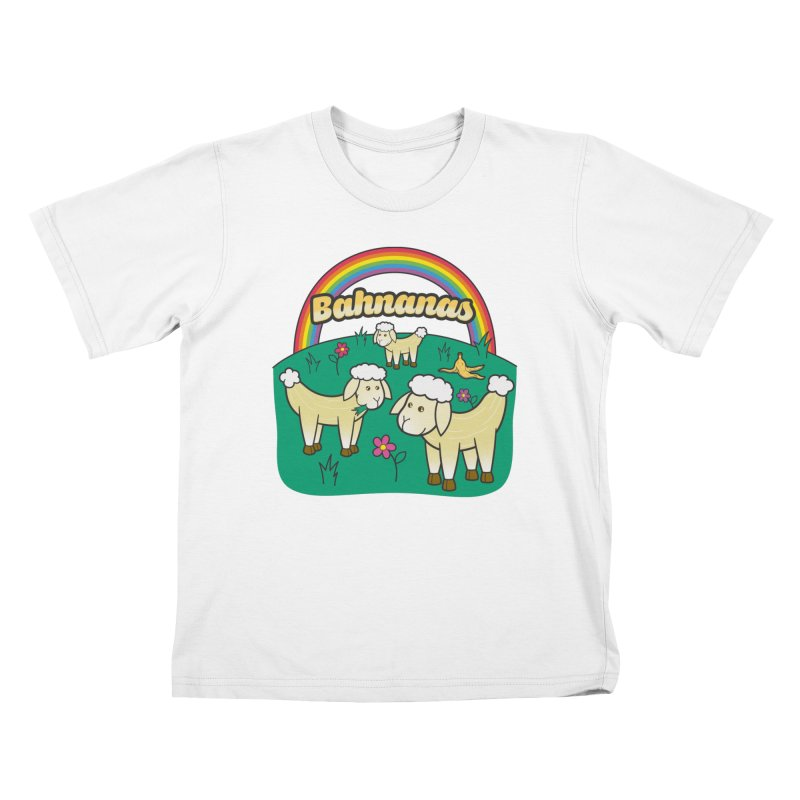 Bahnanas Kids T-Shirt by Made With Awesome