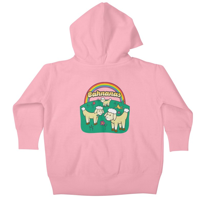 Bahnanas Kids Baby Zip-Up Hoody by Made With Awesome