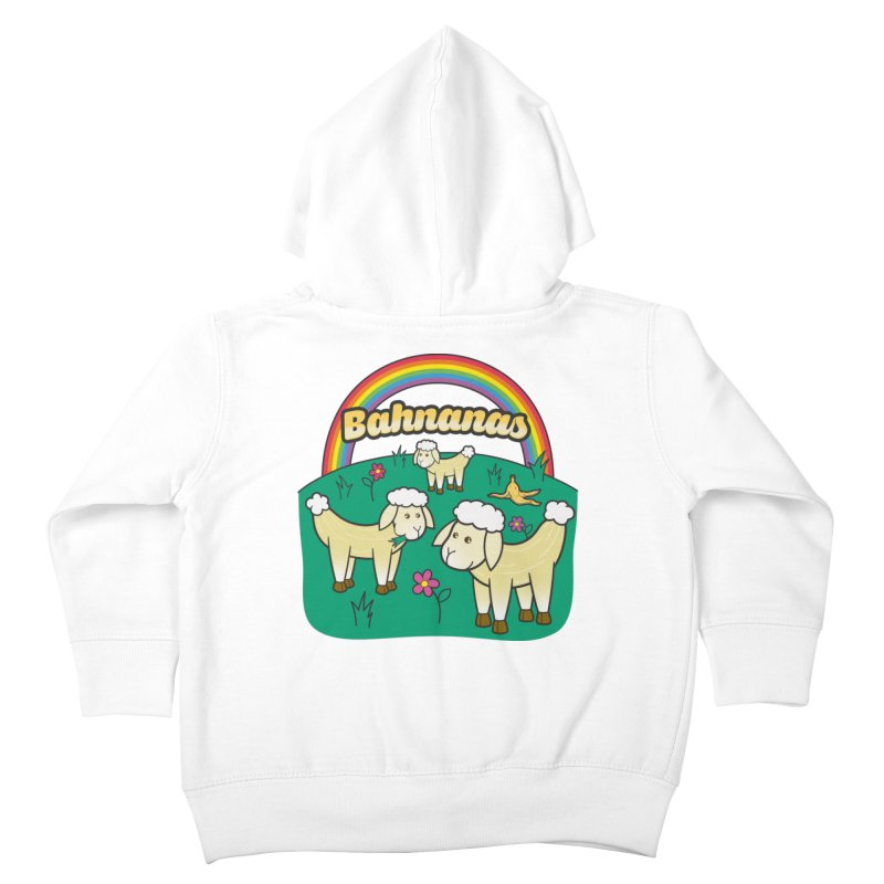Bahnanas Kids Toddler Zip-Up Hoody by Made With Awesome