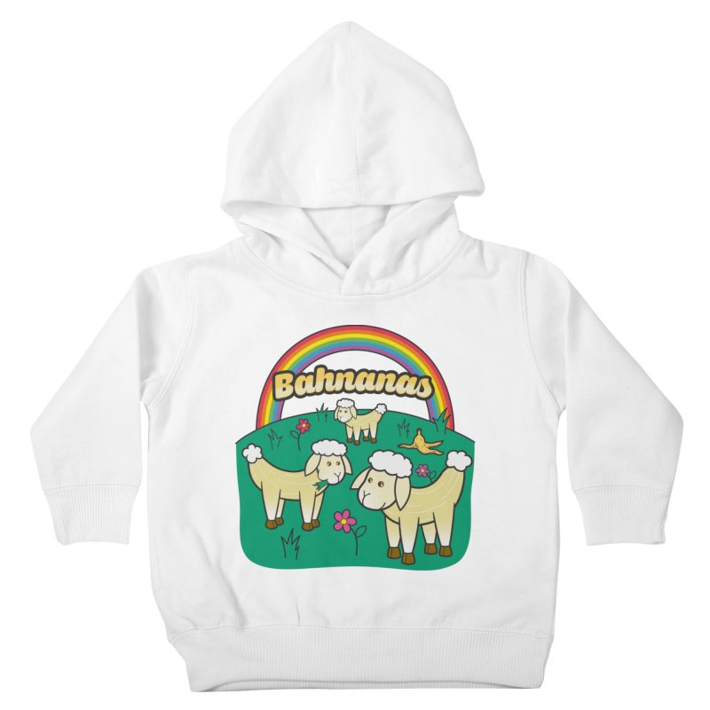 Bahnanas Kids Toddler Pullover Hoody by Made With Awesome