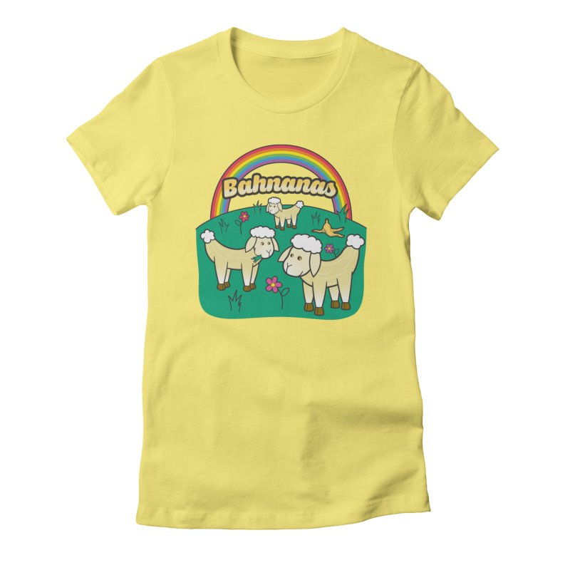 Bahnanas Women's T-Shirt by Made With Awesome