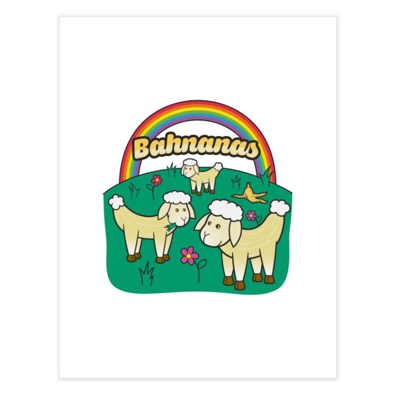 Bahnanas Home Decor Fine Art Print by Made With Awesome