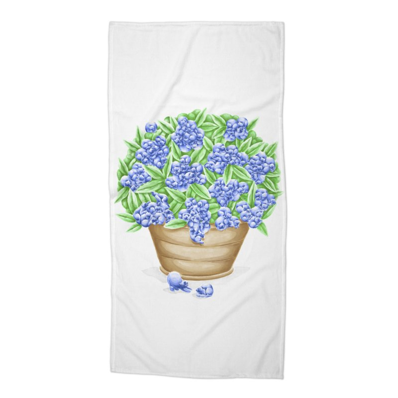 Bluebearies Accessories Beach Towel by Made With Awesome