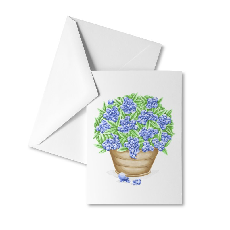 Bluebearies Accessories Greeting Card by Made With Awesome