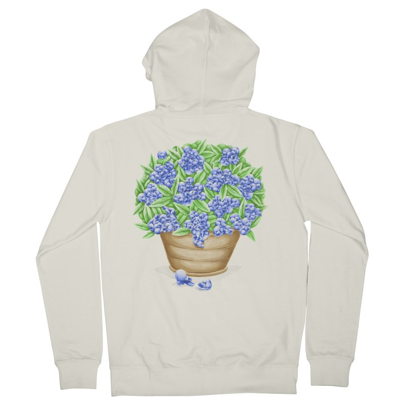 Bluebearies Guys Zip-Up Hoody by Made With Awesome