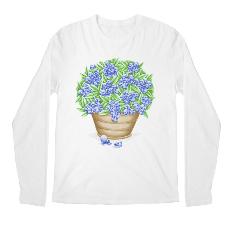 Bluebearies Guys Longsleeve T-Shirt by Made With Awesome