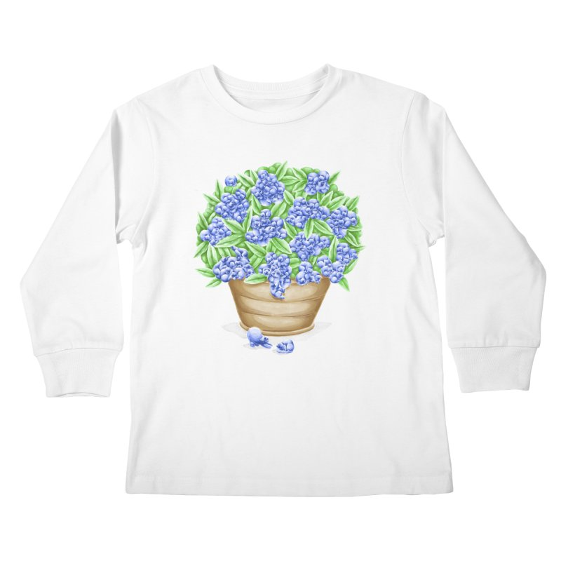 Bluebearies Lil' Ones Longsleeve T-Shirt by Made With Awesome