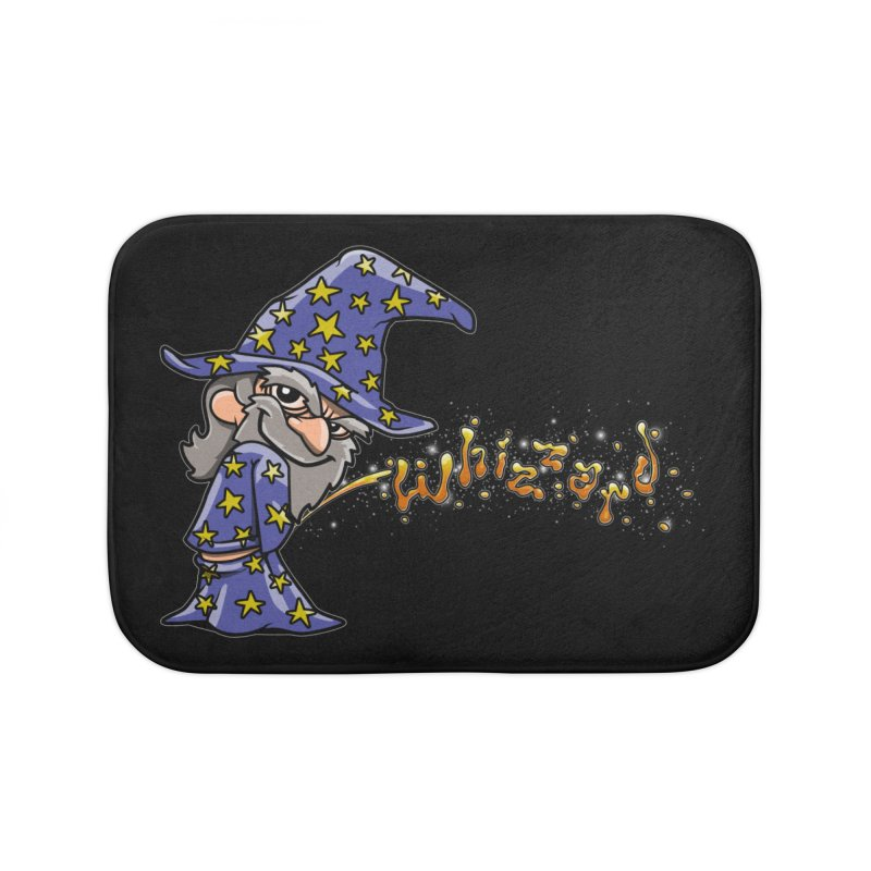 Whizzard Magic Home Bath Mat by Made With Awesome