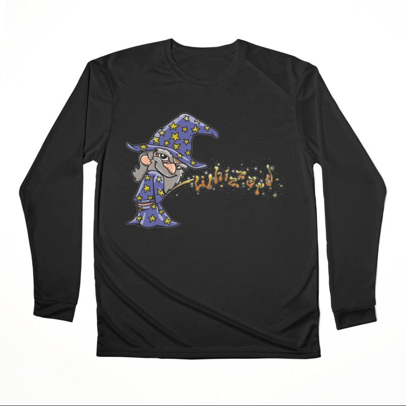 Whizzard Magic Gals Longsleeve T-Shirt by Made With Awesome