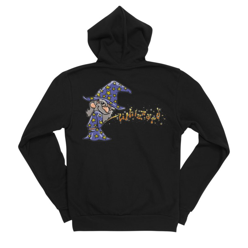 Whizzard Magic Guys Zip-Up Hoody by Made With Awesome
