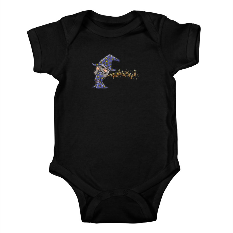 Whizzard Magic Kids Baby Bodysuit by Made With Awesome