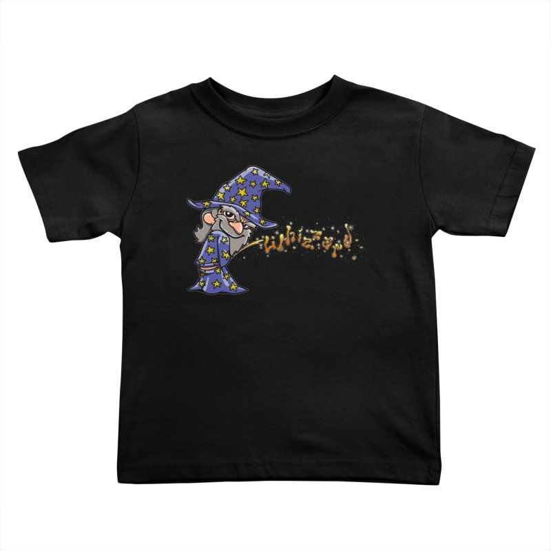 Whizzard Magic Kids Toddler T-Shirt by Made With Awesome