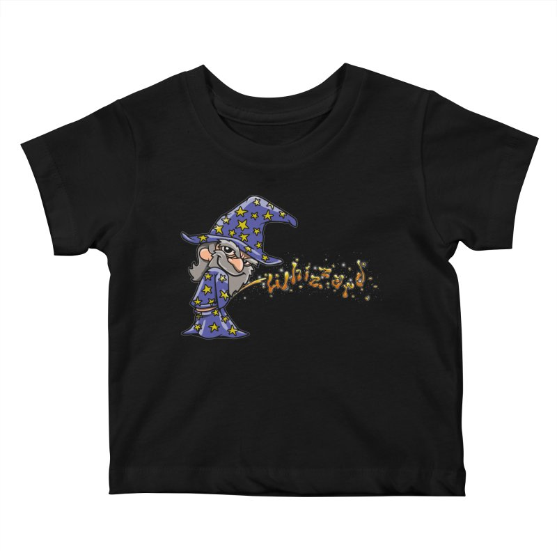 Whizzard Magic Kids Baby T-Shirt by Made With Awesome
