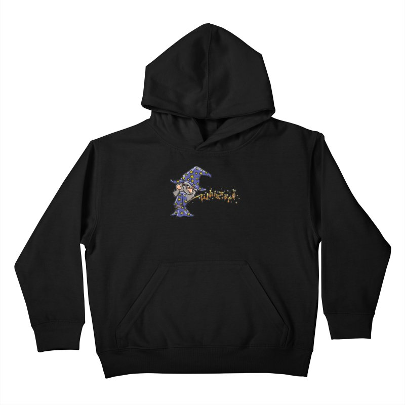 Whizzard Magic Kids Pullover Hoody by Made With Awesome
