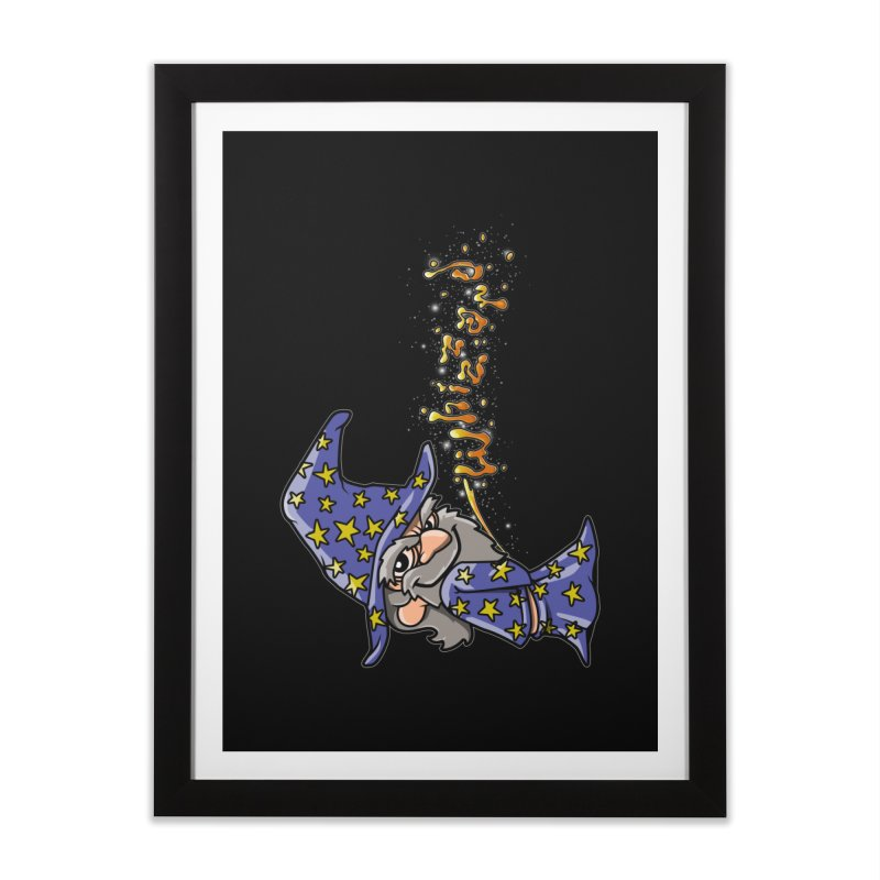 Whizzard Magic Home Framed Fine Art Print by Made With Awesome