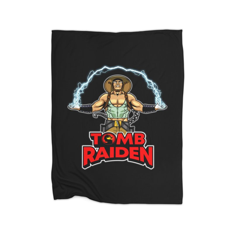 Tomb Raiden Home Blanket by Made With Awesome