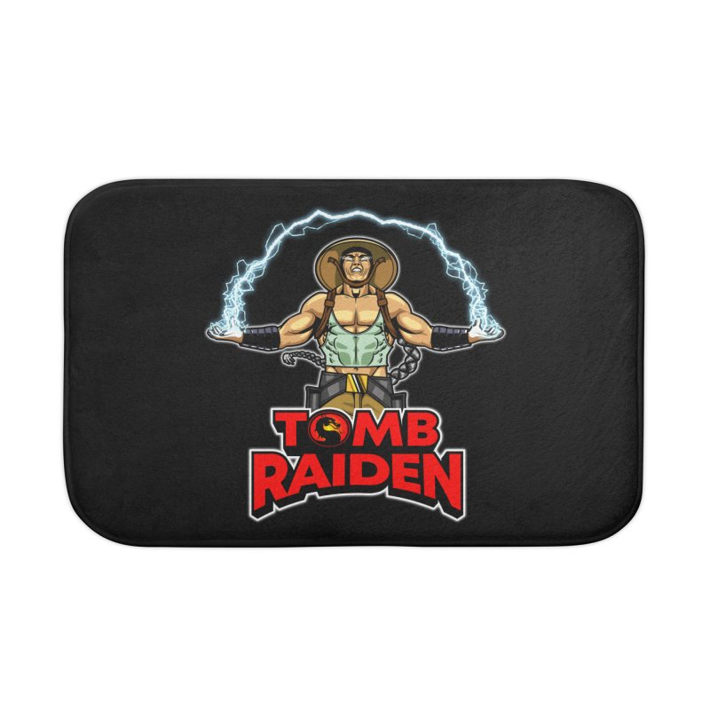 Tomb Raiden Home Bath Mat by Made With Awesome