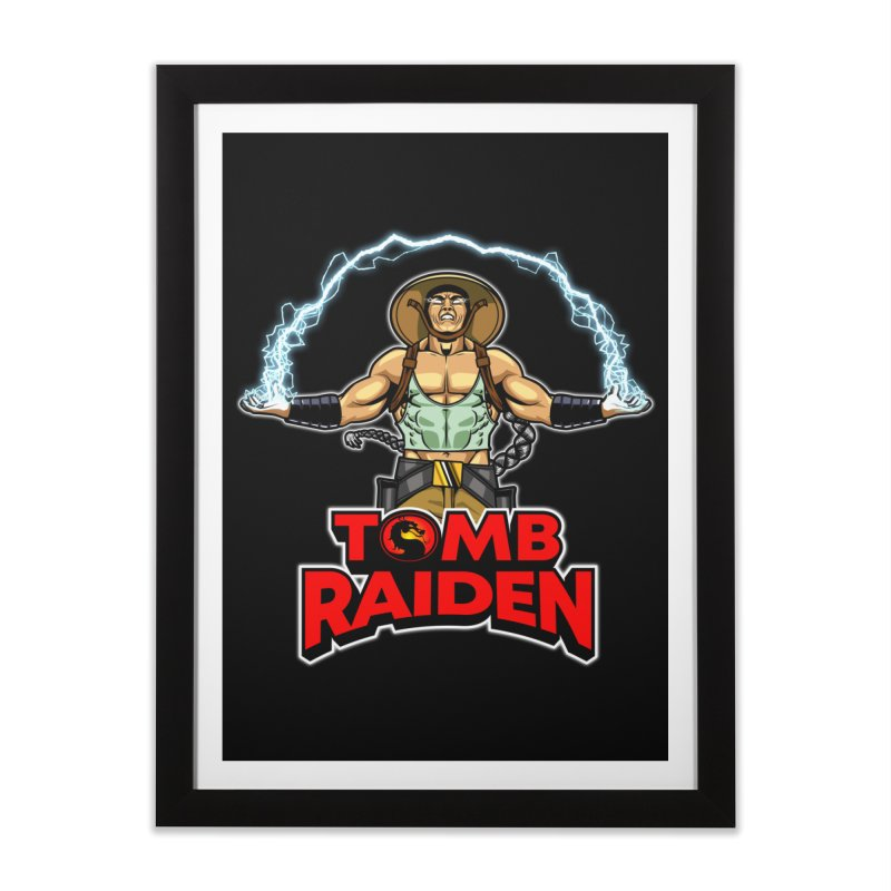 Tomb Raiden Home Framed Fine Art Print by Made With Awesome
