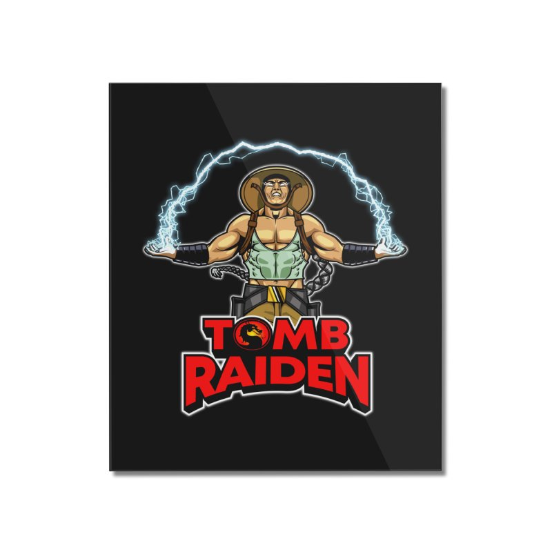 Tomb Raiden Home Mounted Acrylic Print by Made With Awesome