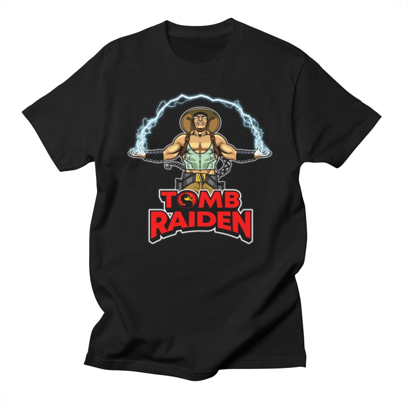Tomb Raiden Guys T-Shirt by Made With Awesome