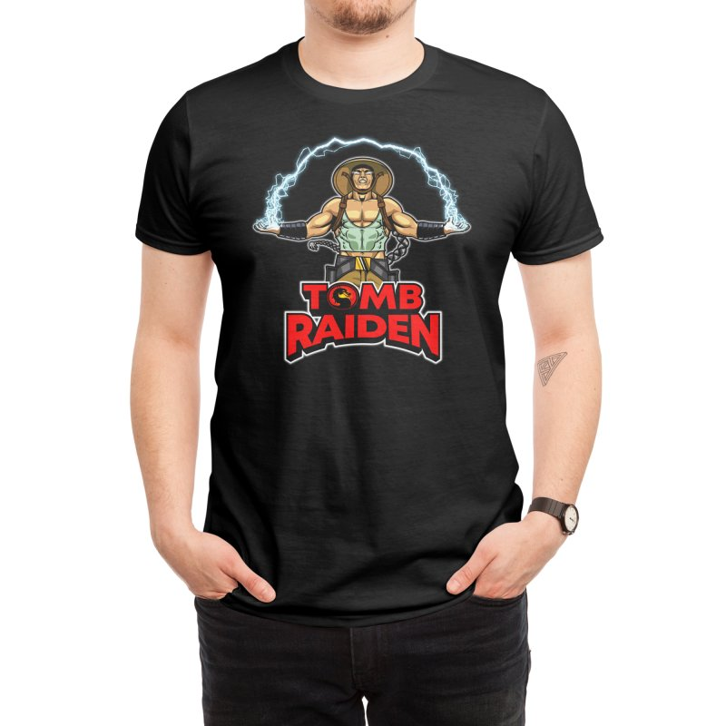 Tomb Raiden Men's T-Shirt by Made With Awesome