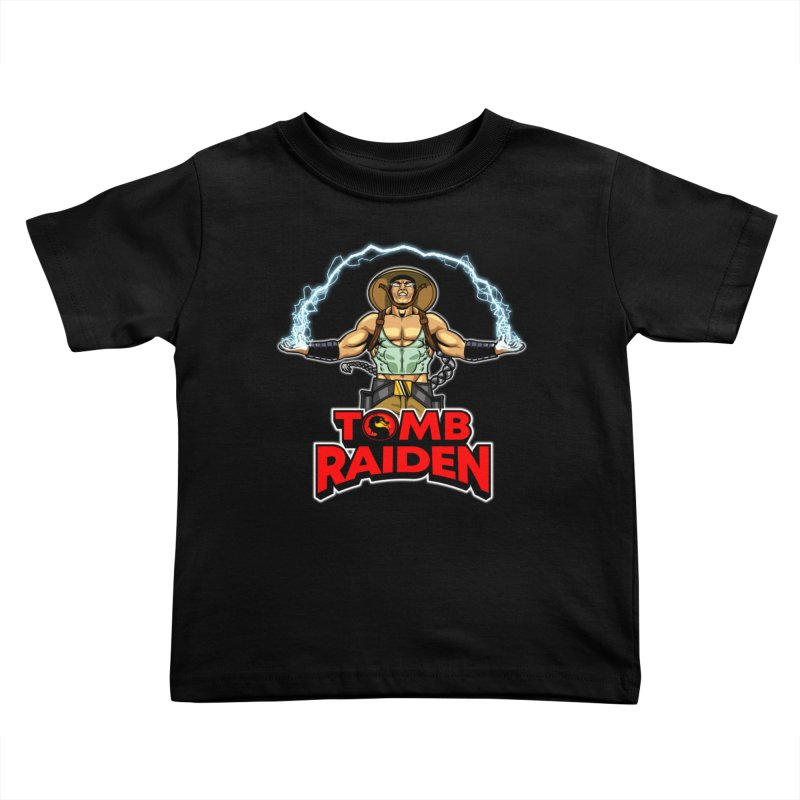 Tomb Raiden Kids Toddler T-Shirt by Made With Awesome