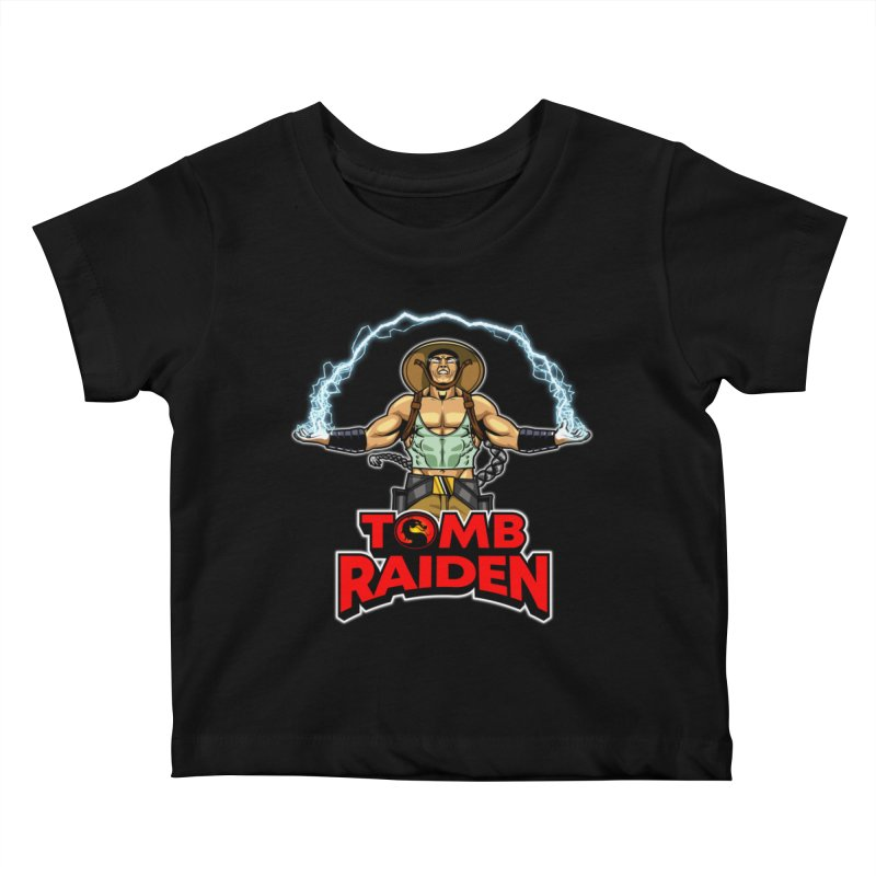 Tomb Raiden Kids Baby T-Shirt by Made With Awesome