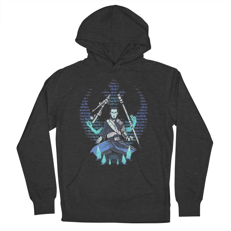 One With The Force Men's Pullover Hoody by Made With Awesome