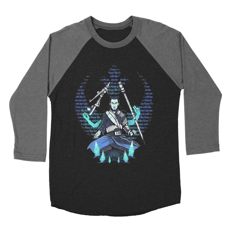 One With The Force Women's Baseball Triblend T-Shirt by Made With Awesome