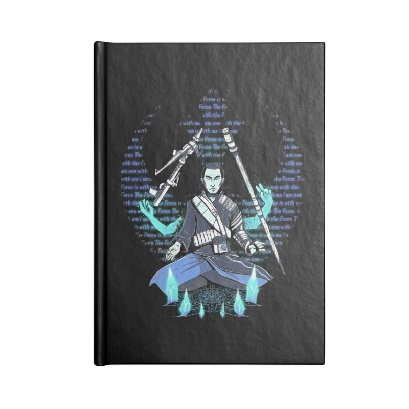 One With The Force Accessories Notebook by Made With Awesome
