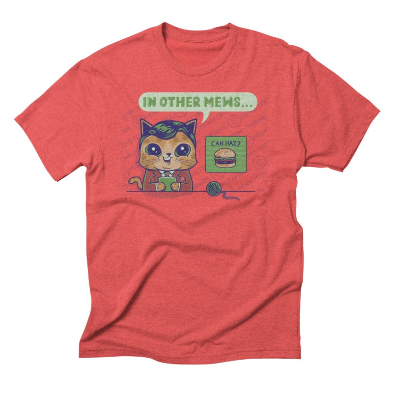Mewsflash Guys T-Shirt by Made With Awesome