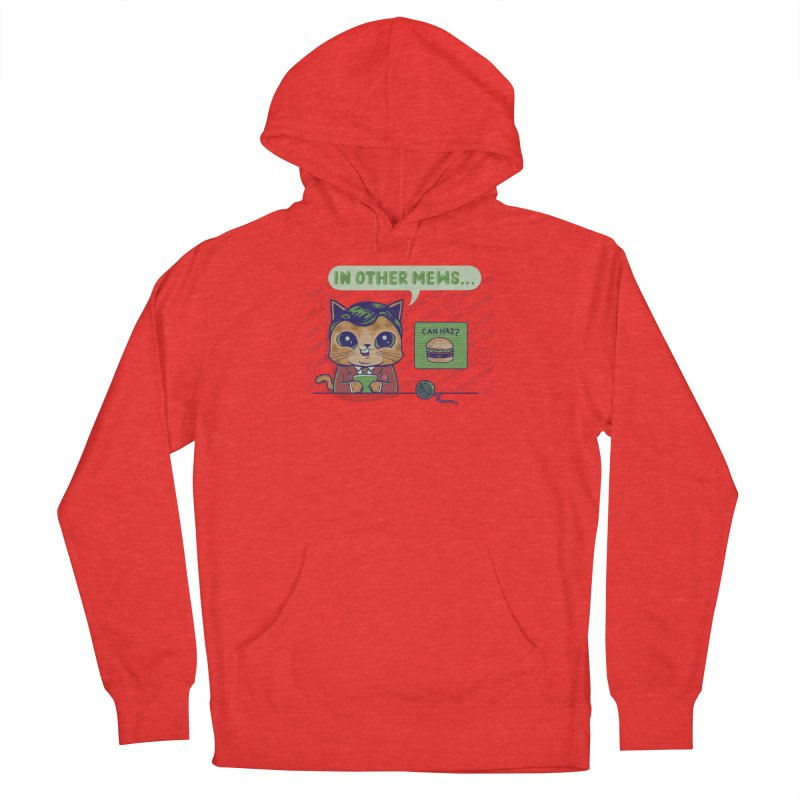 Mewsflash Guys Pullover Hoody by Made With Awesome