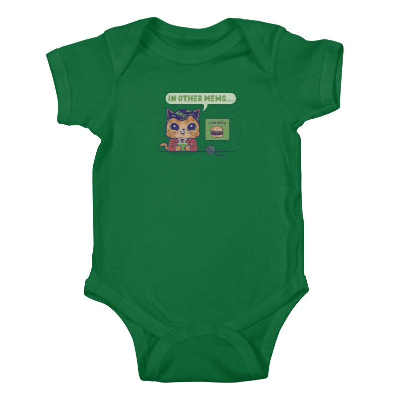 Mewsflash Kids Baby Bodysuit by Made With Awesome